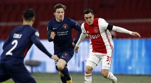 Tagliaifico is a key player for Ajax. EFE