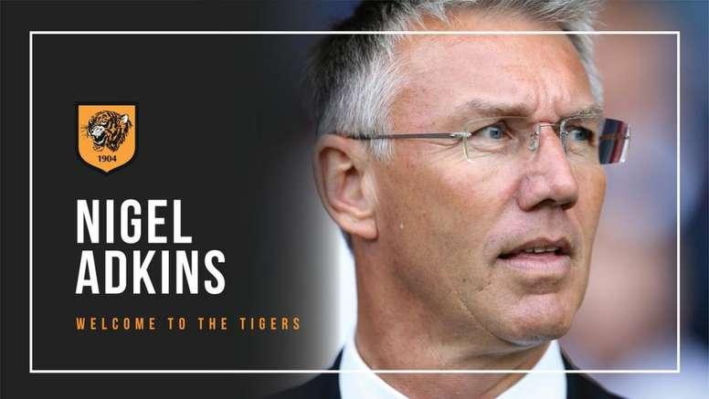 Nigel Adkins, nuevo entrenador del Hull. Twitter/HullCity