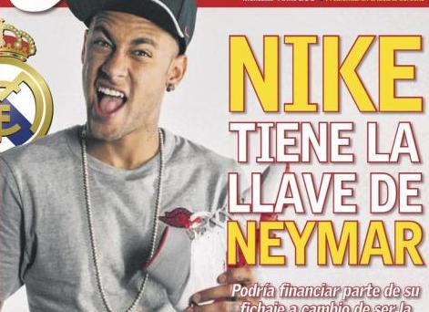 Jornal 'As' aponta nova estratégia para levar Neymar para Madrid. AS