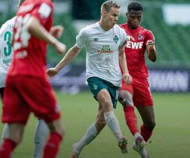 El Werder Bremen goleó al Köln. WerderBremenES