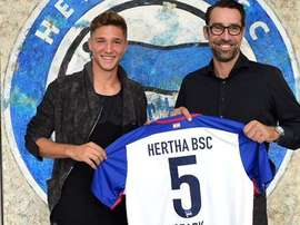 Niklas Stark, es nuevo jugador del Hertha de Berlín. HerthaBSC