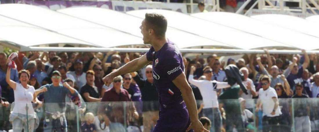 Nikola Milenkovic, dans le viseur du Real Madrid. Twitter/ACFFiorentina