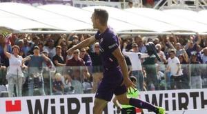 La Fiorentina confirme. Twitter/ACFFiorentina