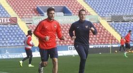 Nikos Karabelas se ha convertido en nuevo jugador del Valladolid. LevanteUD
