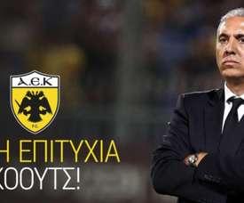 Kostenoglou prend les rênes de l'équipe. AEKAthènes