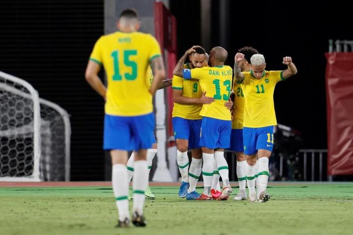 Brasil elimina Egito e enfrentará México na semifinal dos Jogos Olímpicos. EFE