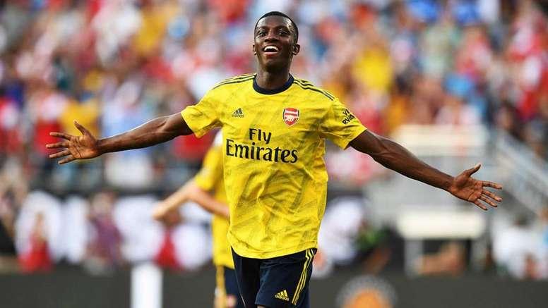 Nketiah pourrait quitter Leeds pour Bristol. Arsenal