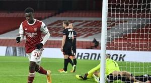 El Arsenal mostró sus dos versiones contra el Molde. AFP/Archivo