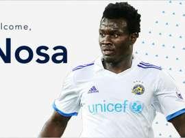 El nigeriano ya luce los colores del conjunto de la MLS. WhitecapsFC