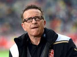 Norbert Meier, se postula como el nuevo entrenador del Darmstadt. Archivo/AFP/EFE