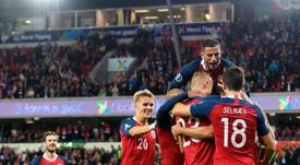 Noruega gana opciones. Twitter/nff_landslag