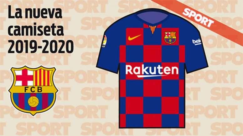 d1c2f8879d536 Sport   así sería la rompedora camiseta del Barça 19-20 - BeSoccer