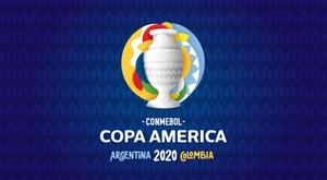 Esse é o logo da Copa América 2020. CONMEBOL