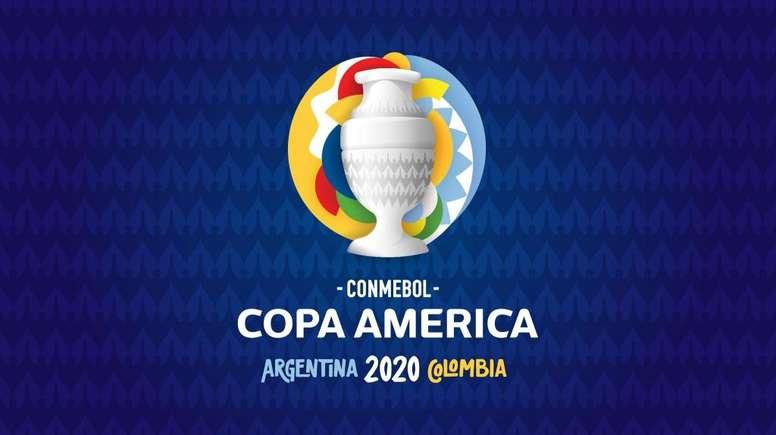 Este es el logo de la Copa América 2020. CONMEBOL