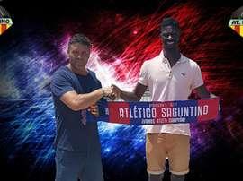 Nuha Marong, nuevo jugador del Atlético Saguntino. AtcoSaguntino