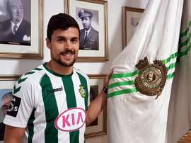 O internacional sub-20 luso regressa assim a Portugal. vfc