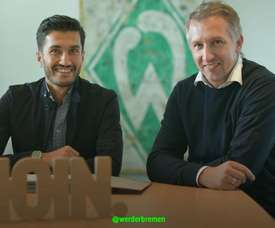 Sahin will wear the number 17 shirt. Twitter/Werderbremen