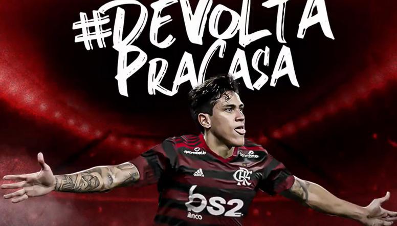 O mercado da bola no Brasil. Twitter @Flamengo
