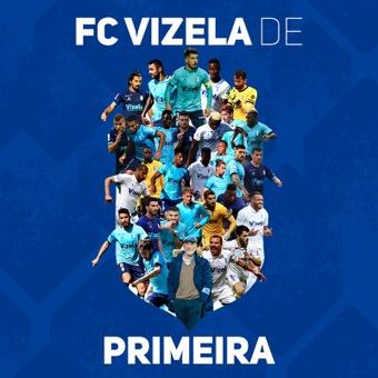 O FC Vizela garante o acesso a elite do futebol portuguê. Facebook Futebol Clube de Vizela