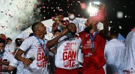 O Náutico foi o campeão da Serie C do Campeonato Brasileiro 2019. Twitter @CBF_Futebol