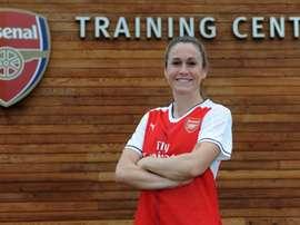O'Reilly, nueva jugadora del Arsenal Ladies. Arsenal