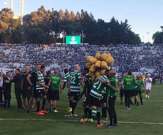 Le Sporting s'offre la Coupe du Portugal 2018-2019. Twitter@Sporting_CP