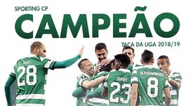 O Sporting vence a Taça da Liga Portuguesa. BeSoccer