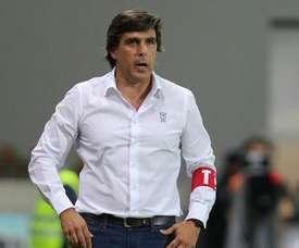 O técnico dos madeirenses vai estar desde o início, ao contrário da última temporada. Twitter