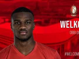 Obbi Oulare will join Standard Liege on loan. Twitter/ Standard de Liege
