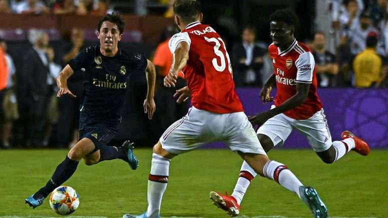 Odriozola lamentó la lesión de Asensio. AFP