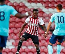Brentford player Odubajo has made an inspired return from a lengthy injury. TWITTER