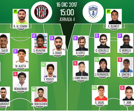 Official lineups for the Club World Cup third place match between Al Jazira and Pachuca. BeSoccer