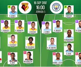Onzes do Watford-City. BeSoccer