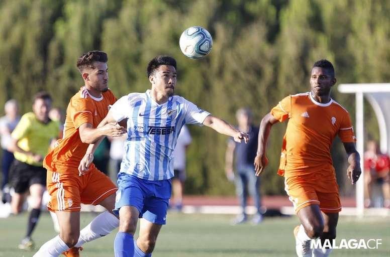 En Japón ya han emitido tres partidos de Segunda. MálagaCF