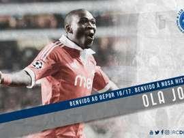 El Deportivo ha confirmado el fichaje de Ola John. RCDeportivo