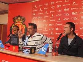 Olaizola ha llegado con ánimos renovados y buenos resultados al Mallorca. RCDMallorca