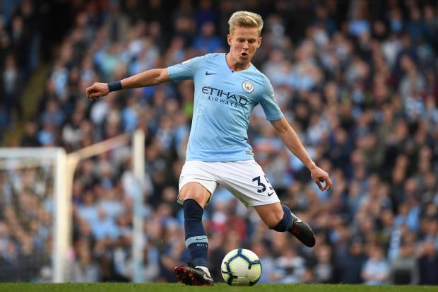 Zinchenko aparece no radar do Barcelona. AFP