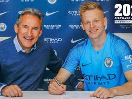 Zinchenko has signed a new deal at Manchester City until 2024. ManCity