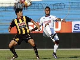 El Real España abre la jornada en Honduras. AFP