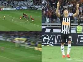 Oliveira sigue marcando goles de todos los colores. Captura/TVGalo