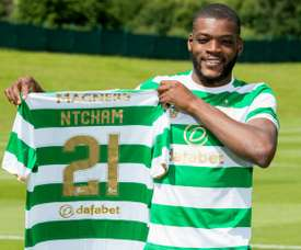 Ntcham has extended his stay in Scotland. CELTICFC