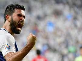 Kharbin hizo el tanto del empate para el equipo de Arabia Saudí. FIFA