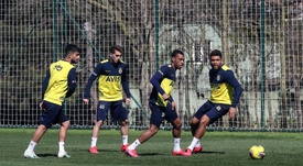 Suspenden entrenamientos en Turquía. Fenerbahçe
