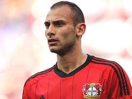Toprak no quiere continuar en el Leverkusen. AFP