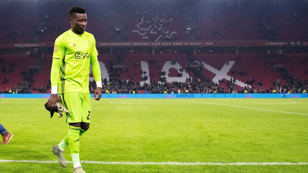 El Ajax pretende renovar el contrato de André Onana