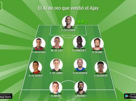 El XI de oro que hizo rico al Ajax. BeSoccer