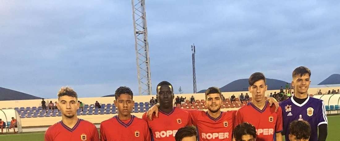 El Lanzarote anunció la renovación del centrocampista. UDLanzarote