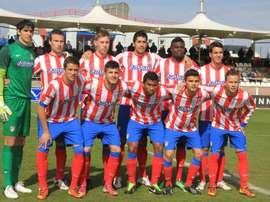 El Atlético B empató a 1 contra el Rayo B. ClubAtléticodeMadrid