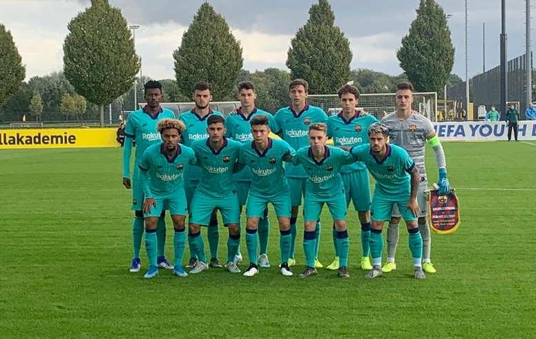 Los equipos juveniles del Barcelona vuelven al trabajo. FCBMasia