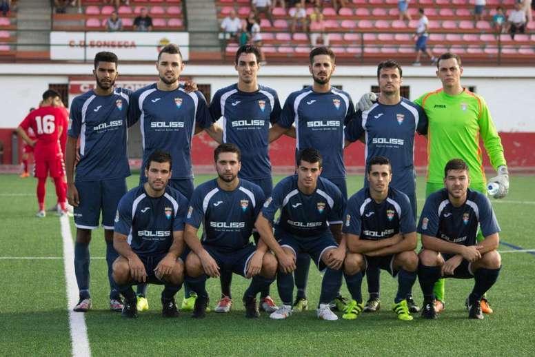 El CD Bargas, el equipo agraviado. CDBargas